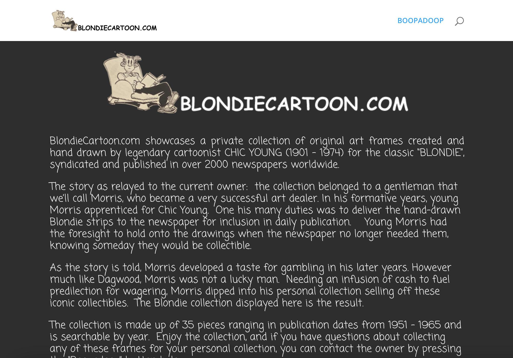Blondie Cartoon Collection