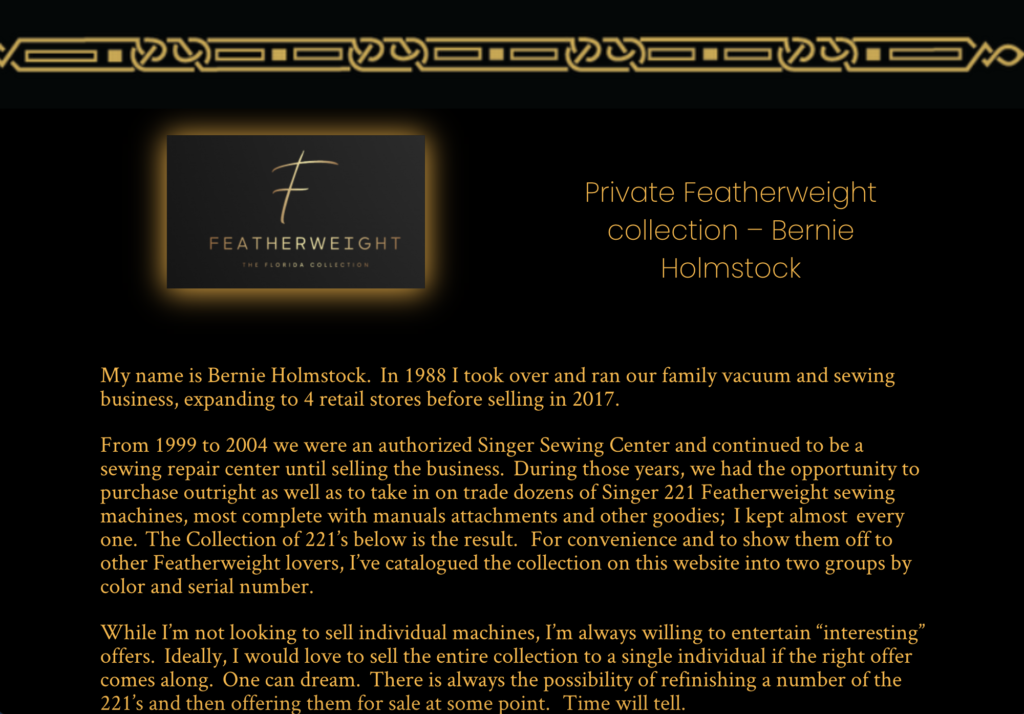 221 Freatherweight collection